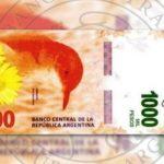 nuevo billete de mil pesos