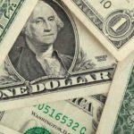 Billetes de un dólar -detalle-
