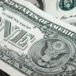 billte de 1 dólar, detalle del reverso