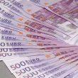 Los billetes de 500 euros dejarán de emitirse en 2018